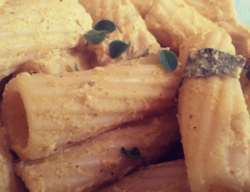 Rigatoni alla Currybonara